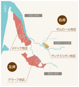 MEDOC地図