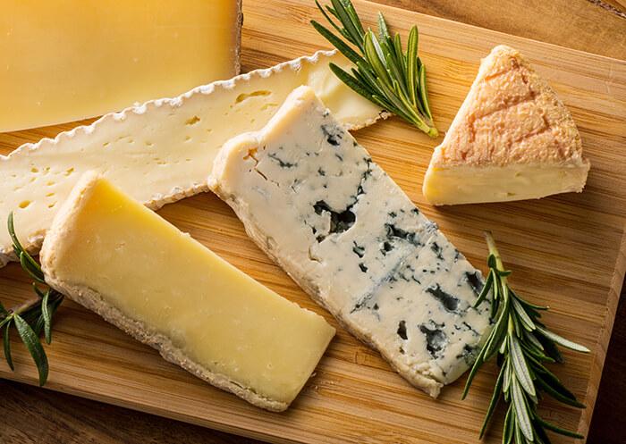 ブルーチーズとウォッシュチーズ