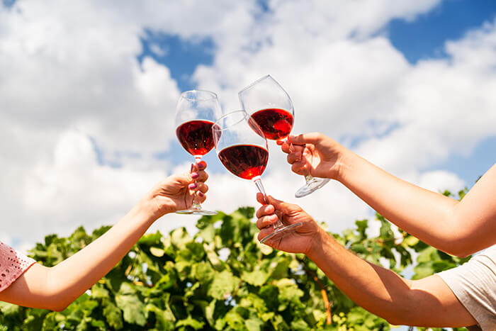 ワインの色イメージ