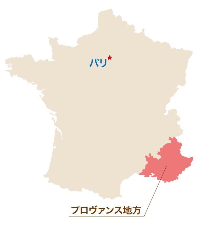 プロヴァンス地方 地図
