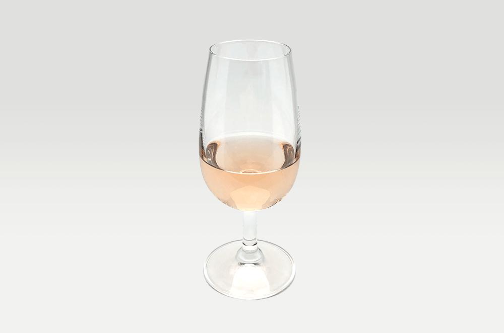 ピンクデザイン ロゼ グラス