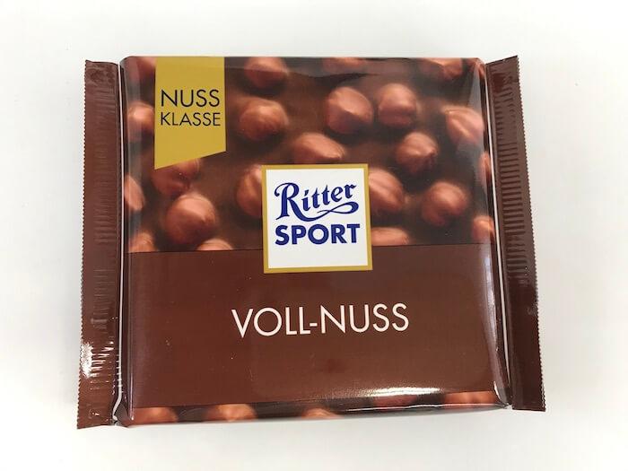 ナッツチョコレートパッケージ