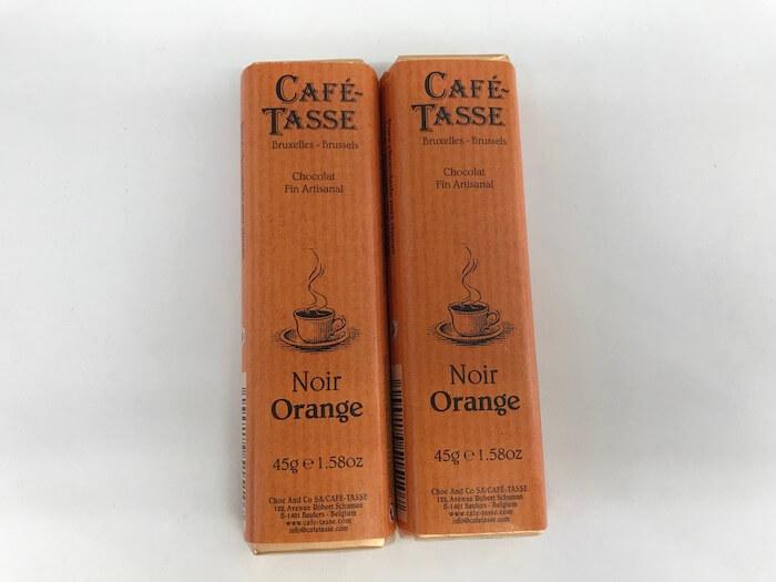 オレンジピールチョコレートパッケージ
