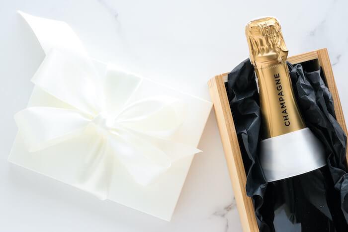 ワインのプレゼント(シャンパーニュ)