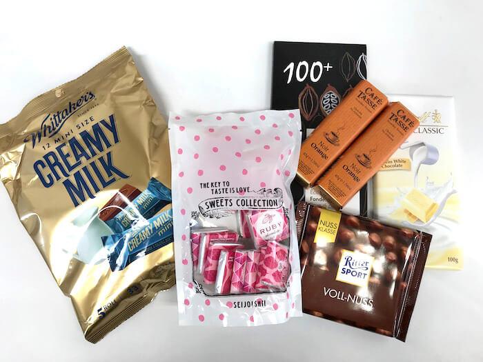 チョコレート全種03