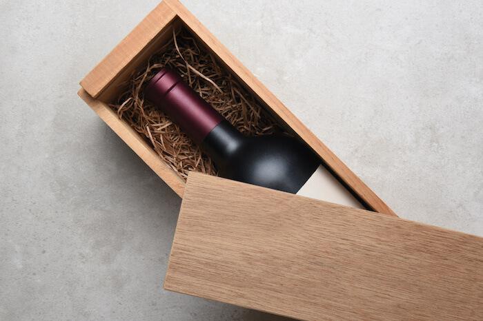 ワインラッピング(木箱)