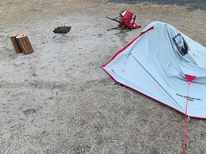 突風キャンプ