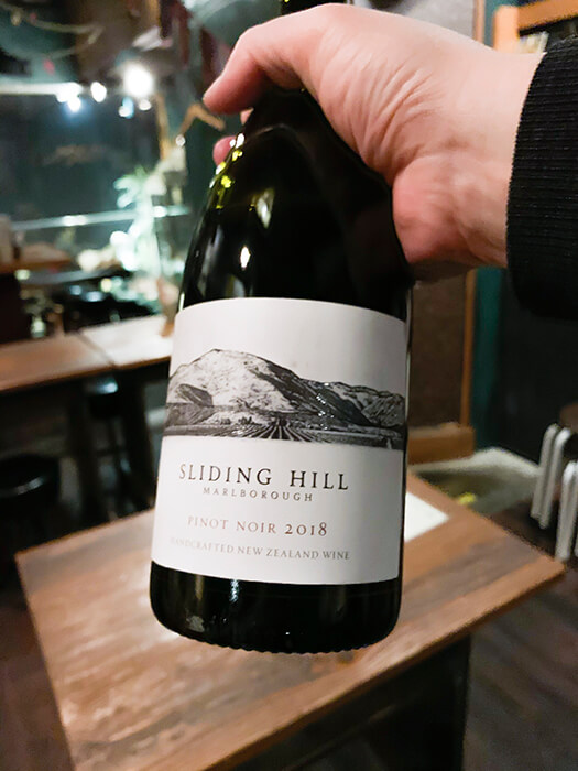 sliding hill
