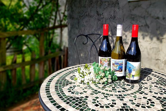 大沢ワインズ オリジナルラベル